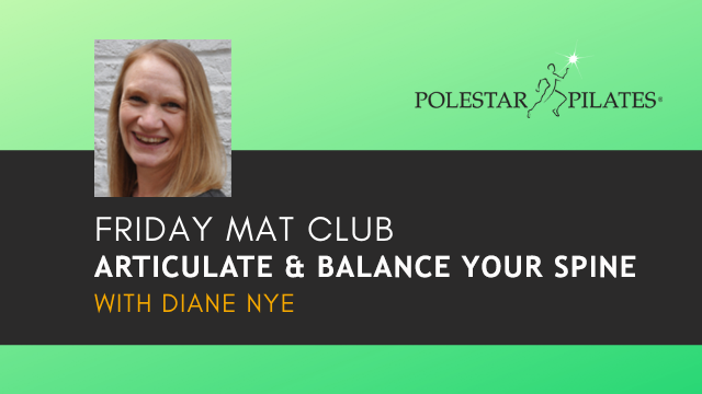 Friday Mat Club with Diane Nye